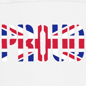PROUD Britain Flag, British Flag, Union Jack, UK F - Cooking Apron
