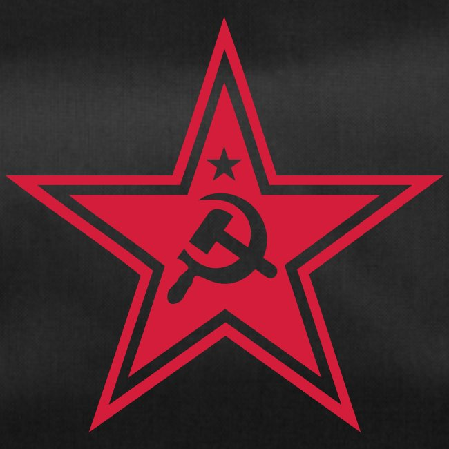 Communist Star Duffel Bag