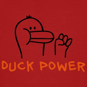 Duck Power T-skjorter - Økologisk T-skjorte for menn