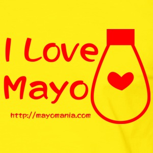 I Love Mayo  T-Shirts - Men's Ringer Shirt
