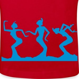 dancing 3 dancing beauties Kids' Shirts - Kids' Organic T-shirt
