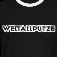 Motiv ~ Weltallputze Grunge weiss Kontrast