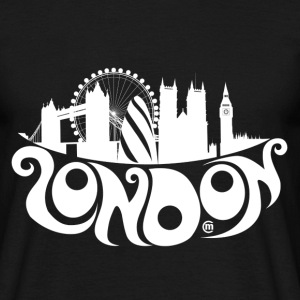 London w T-Shirts - Männer T-Shirt