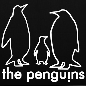 Black penguins Bags  - Tote Bag