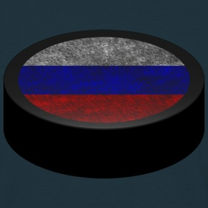 Hockey Puck (Russia) Men's T-shirts - Maglietta da uomo