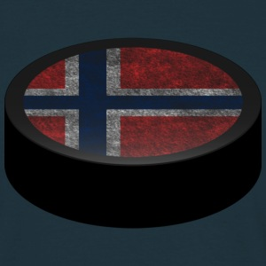 Hockey Puck (Norway) Men's T-shirts - T-skjorte for menn