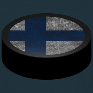 Hockey Puck (Finland) Men's T-shirts - Camiseta hombre