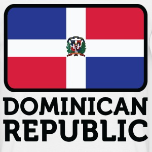 Flag Dominican Republic 2 (dd) T-shirts - T-shirt Homme