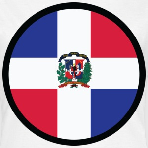 Circle Dominican Republic (dd) T-shirts - Vrouwen T-shirt