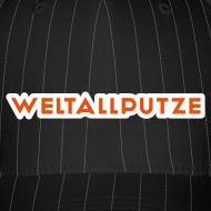 Motiv ~ Weltallputze Cap-Oh Flock (Orange)
