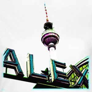 Alex Cyan T-Shirts - Frauen T-Shirt