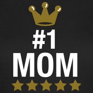 nr. 1 mom - no. 1 mom - number one mom - muttertag - mothers day T-Shirts - Frauen T-Shirt