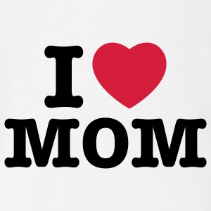 i love mom - i heart mom - i liebe mutti mama mutter Baby Body - Baby Bio-Kurzarm-Body