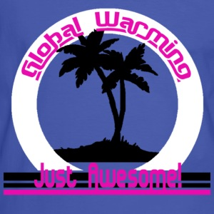 Global Warming just awesome! Global Warming T-shirts - Kontrast-T-shirt herr