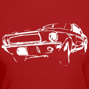 US Car White T-Shirts - Frauen Bio-T-Shirt