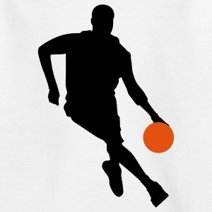 Basketball Børne T-shirts - Teenager-T-shirt