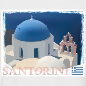 Santorini - Men's Baseball T-Shirt