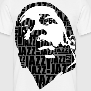 Jazz only noir/blanc - T-shirt Homme