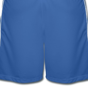 Royal blue Pixel Moustache Shirts - Men's Football shorts