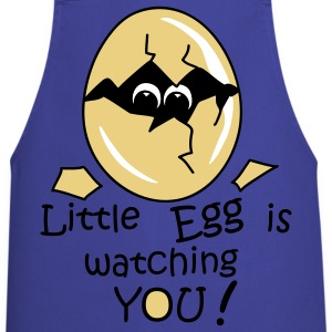 Little Egg is watching you! Delantales - Delantal de cocina