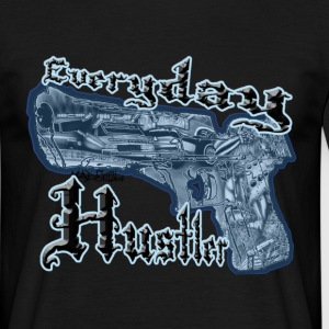 Airbrush Shirt Everyday Hustler - Männer T-Shirt