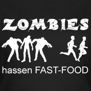 T-Shirt Zombies ... women - Frauen T-Shirt