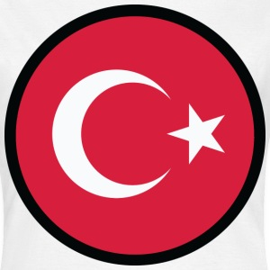 Circle Turkey (dd) T-shirts - Vrouwen T-shirt