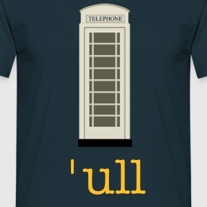 Kingston Upon Hull Cream Phone Box - Men's Classic - Men's T-Shirt