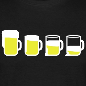 beer_drinking_2c T-shirts - Mannen T-shirt