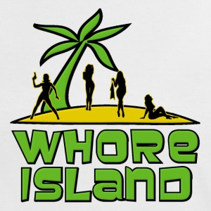 Archer Whore Island T-Shirts - Women's Ringer T-Shirt