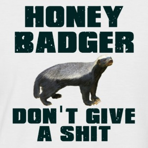 Honey Badger Don't Give A Shit T-Shirts - Men's Baseball T-Shirt