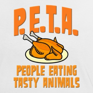 PETA People Eating Tasty Animals T-Shirts - Women's Ringer T-Shirt