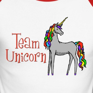Team Unicorn Long sleeve shirts - Men's Long Sleeve Baseball T-Shirt