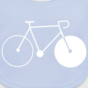 bike singlespeed fixie bicycle Accessories - Baby Organic Bib