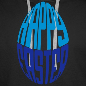 Easter Egg Hoodies and Sweatshirts - Felpa con cappuccio premium da uomo