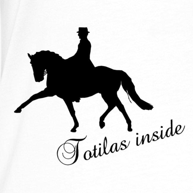 Totilas Inside - dressage t-shirt contrast