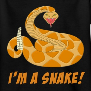I'm A Snake Kids' Shirts - Teenage T-shirt