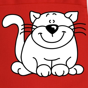 fat sweet cat  Aprons - Cooking Apron