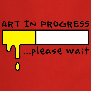 Art in Progress - Loading, please wait Kookschorten - Keukenschort