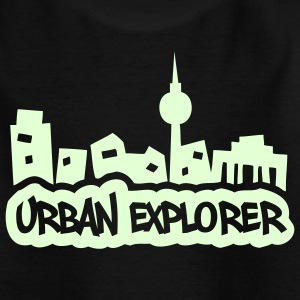 Urban Explorer - 1color - 2011 Kinder T-Shirts - Teenager T-Shirt