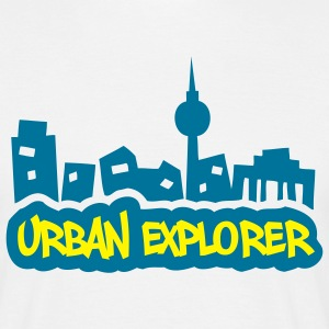 Urban Explorer - 2colors - Men's T-Shirt