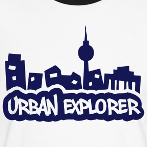 Urban Explorer - 1color - Men's Ringer Shirt