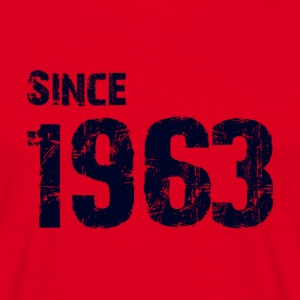 Since 1963 - Mannen T-shirt