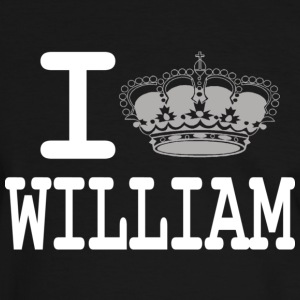 I love William -crown T-shirts - T-shirt contraste Homme