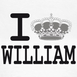 I love William -crown T-shirts - T-shirt Femme