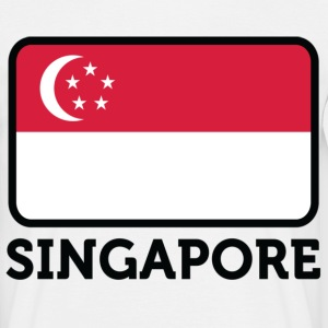 Flag Singapore 2 (dd) T-Shirts - Men's T-Shirt
