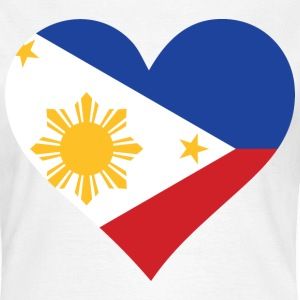 Heart Philippines (dd) T-Shirts - Frauen T-Shirt