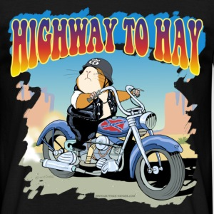 Highway to Hay - Männer T-Shirt