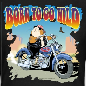 Born to go Wild - Frauen T-Shirt