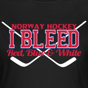 I Bleed Norway T-shirts - Dame-T-shirt